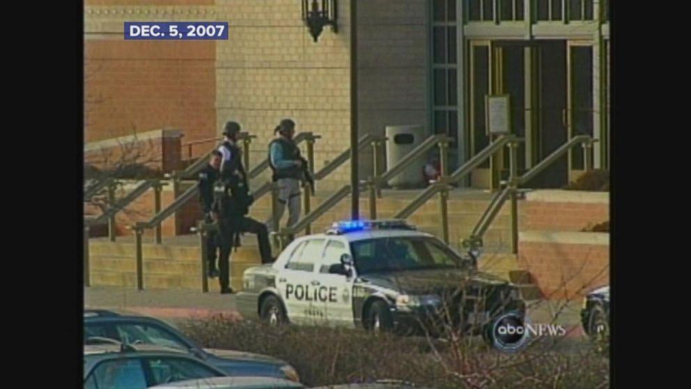A gunman opens fire at a Nebraska mall.
