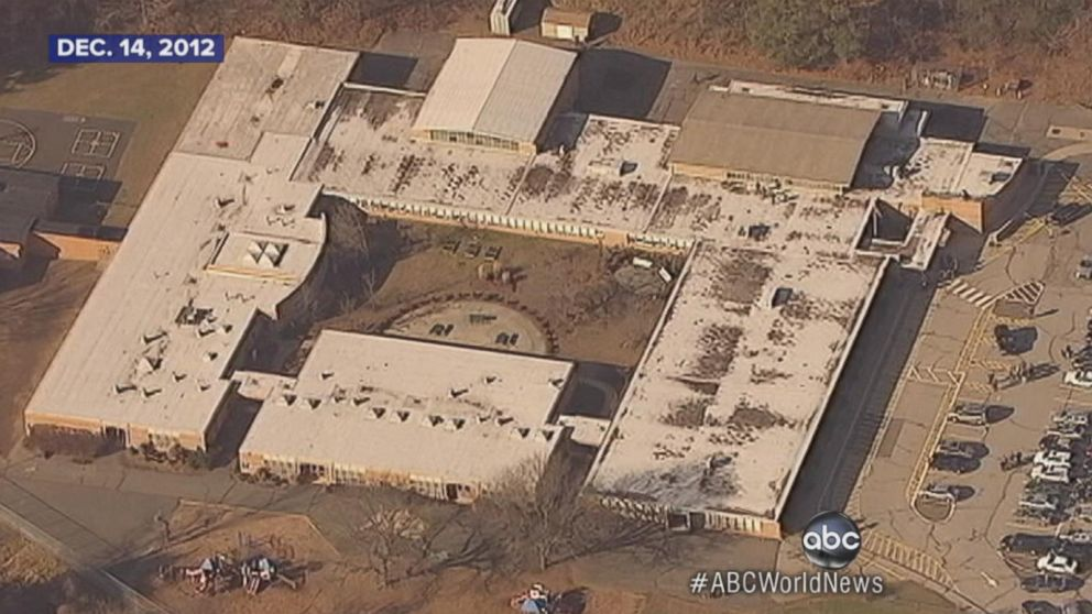 Gunman opens fire at Sandy Hook Elementary School.