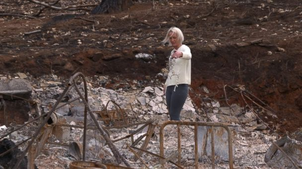 Paradise residents return home to life-changing heartbreak