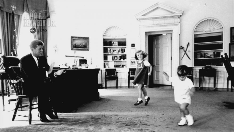 VIDEO: JFKs children at the White House: John Jr. was the apple of his eye