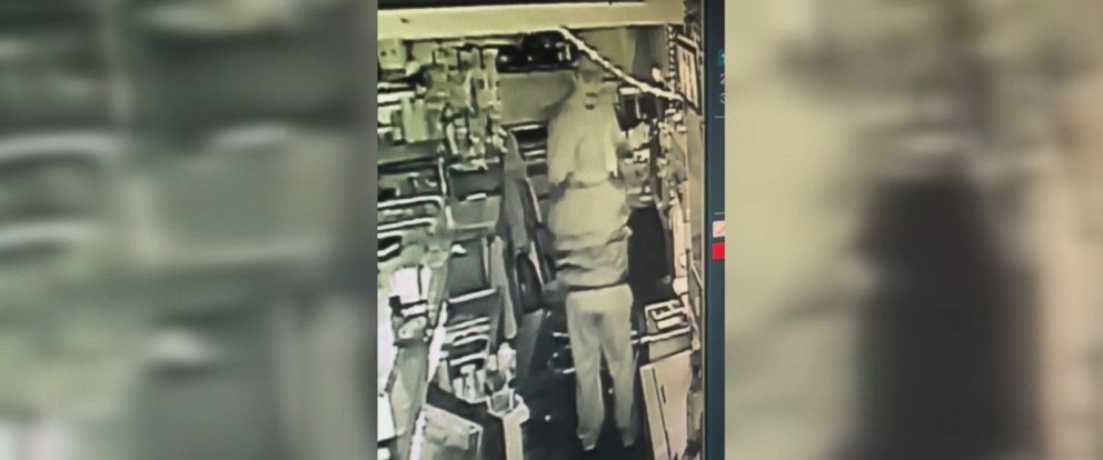 The bartender, a retired Marine Corp combat veteran, was able to disarm the suspect as he handed over cash from the register, police said.
