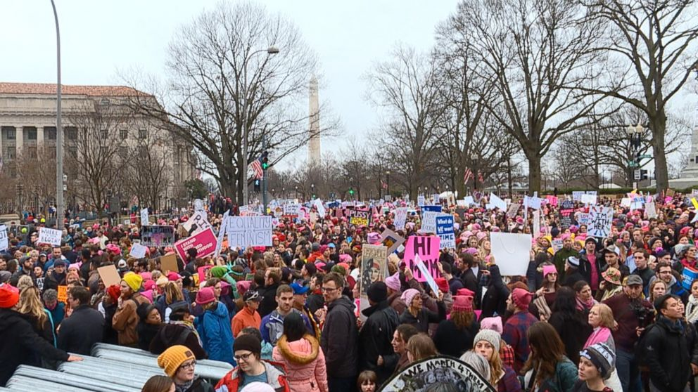 816a729eae1af Women s March 2019  Everything you need to know - ABC News