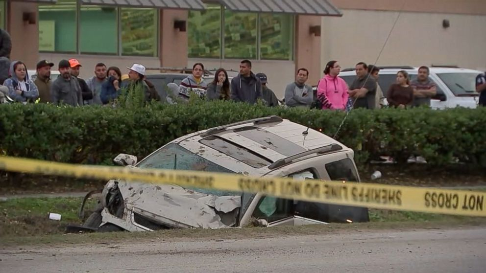 14-year-old driver was fleeing from person with gun before fatal