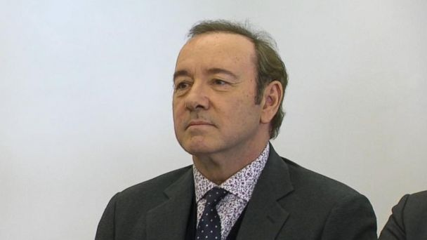 Kevin Spacey pleads not guilty