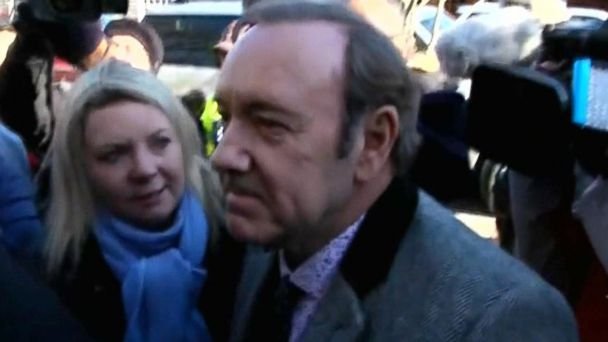 Kevin Spacey pleads not guilty in indecent assault case