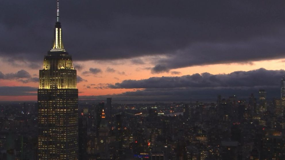 VIDEO: After a morning storm, the weather cleared up on the evening of Jan. 24.