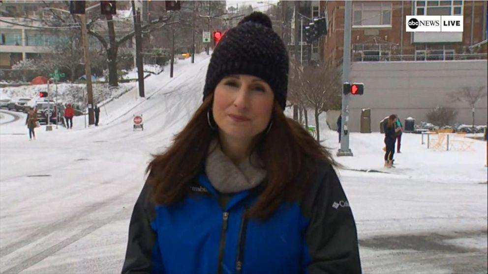 614e3f585c7 New storm system brings snow to Seattle Video - ABC News
