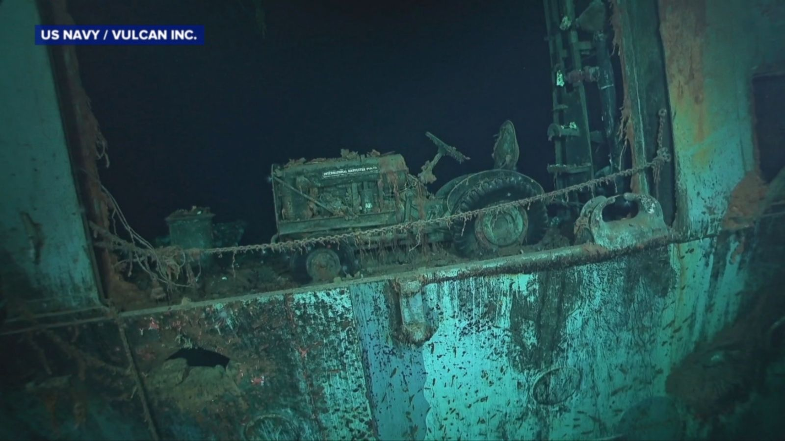 WWII aircraft carrier discovered on ocean floor, and the spooky video is  amazing