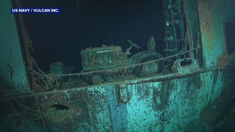 WWII aircraft carrier discovered intact