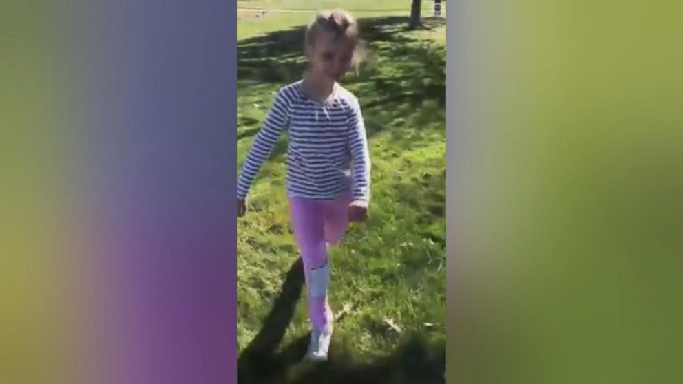 10-year-old with cerebral palsy walks for the first time
