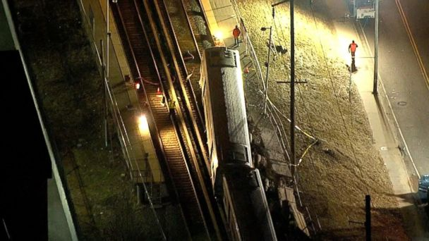 At least 3 killed in NY train crash and derailment