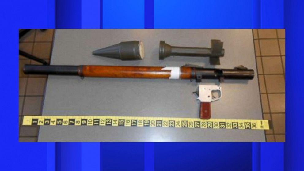 TSA confiscates rocket-propelled grenade launcher at