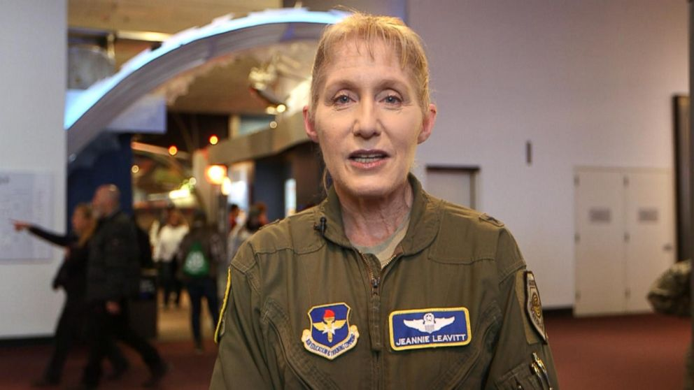 Air Force S 1st Female Fighter Pilot Jeannie Leavitt Helped Bring Captain Marvel To Life Abc News This tutorial on captain marvel. air force s 1st female fighter pilot