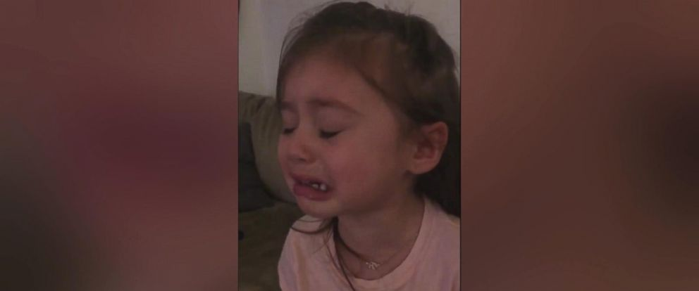 VIDEO: The young girl sobbed uncontrollably when the famous animated mouse went into the washing machine.