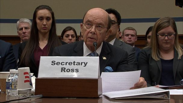 Commerce Secretary defends effort to add citizenship question to 2020 census