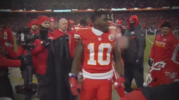 Abuse investigation underway at home of Chiefs' star wide receiver Tyreek Hill