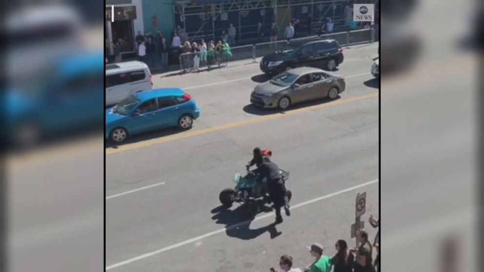 ATV driver drags Nashville officer down busy street after traffic