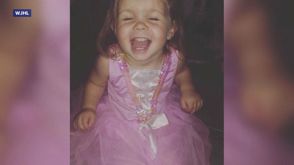 3b1506174b183 2-year-old Tennessee girl is fighting for her life after being hit in the  head by a stray bullet while playing on her backyard slide - ABC News