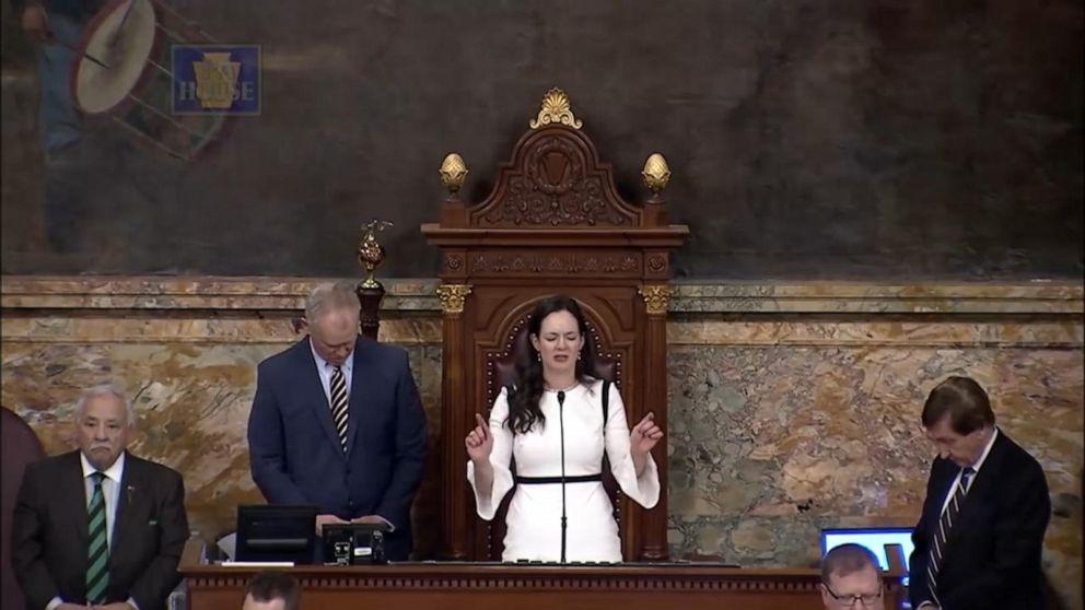 PA lawmaker leads Christian prayer as Muslim lawmaker sworn in