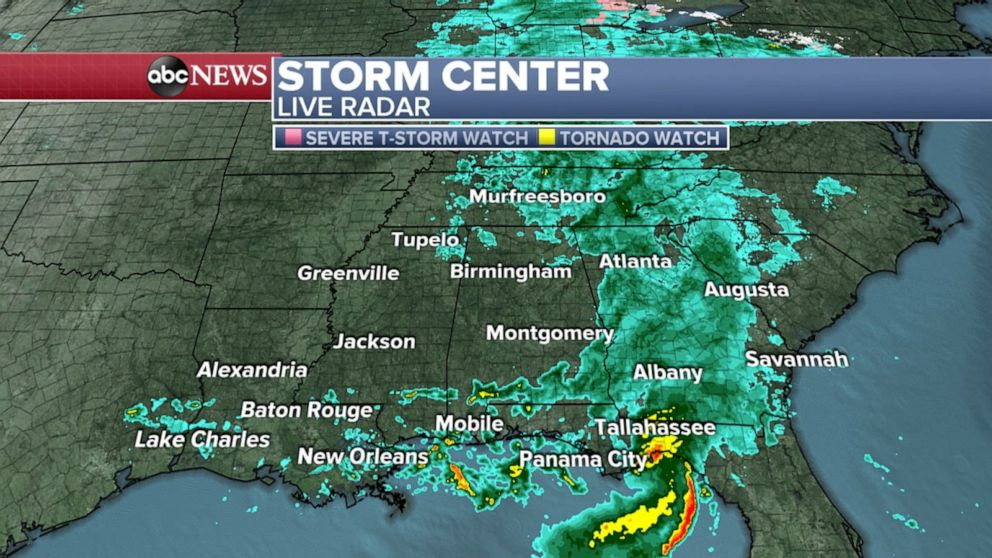 Storm moves into Northeast, while another brings severe weather to