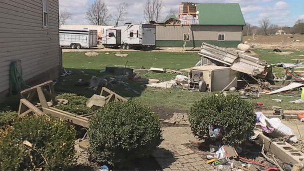 Tornado touched down in Shelby, Ohio