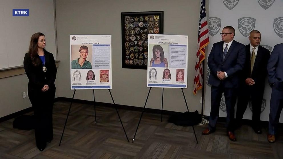 Texas authorities identify 2 victims in decades-old 'Killing Fields