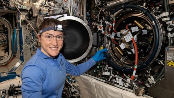 Astronaut to set new record for women in space