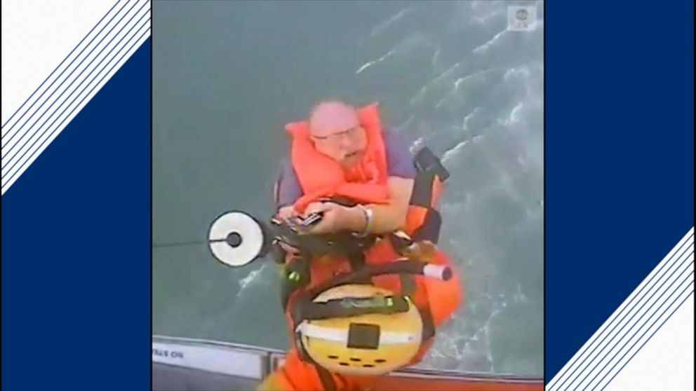 Coast Guard rescues two people after boat starts taking on water