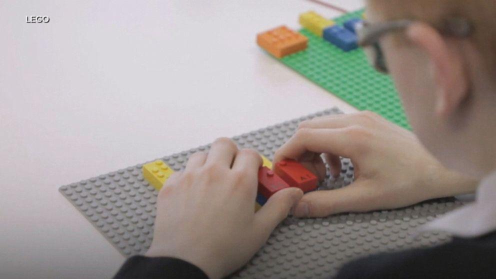 Lego bricks will teach blind kids braille