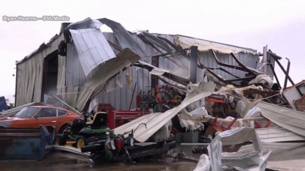 Deadly storms strike South