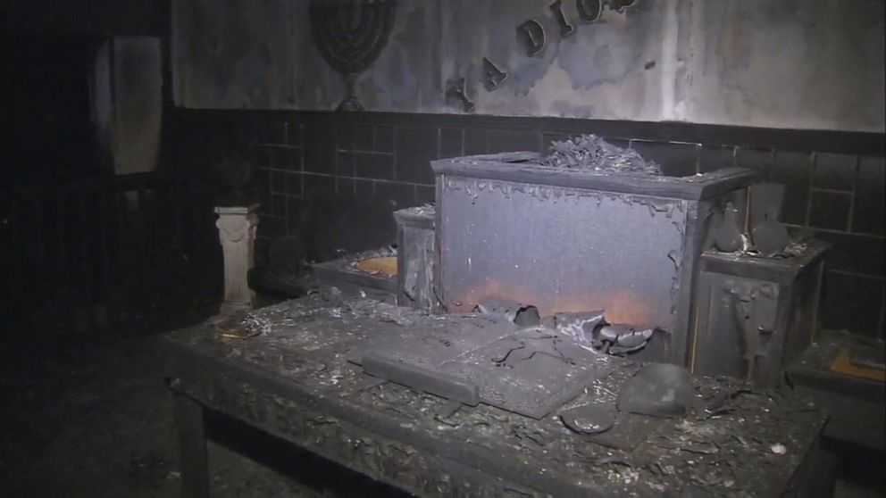 2 fires break out at Pennsylvania church, arson investigators searching for clues