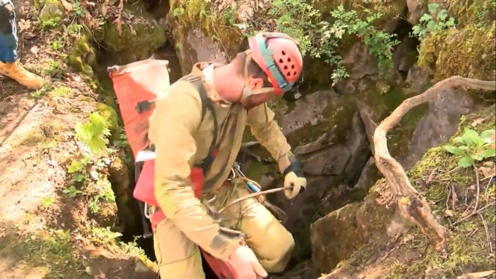 Rescue underway for 5 trapped in Virginia cave after