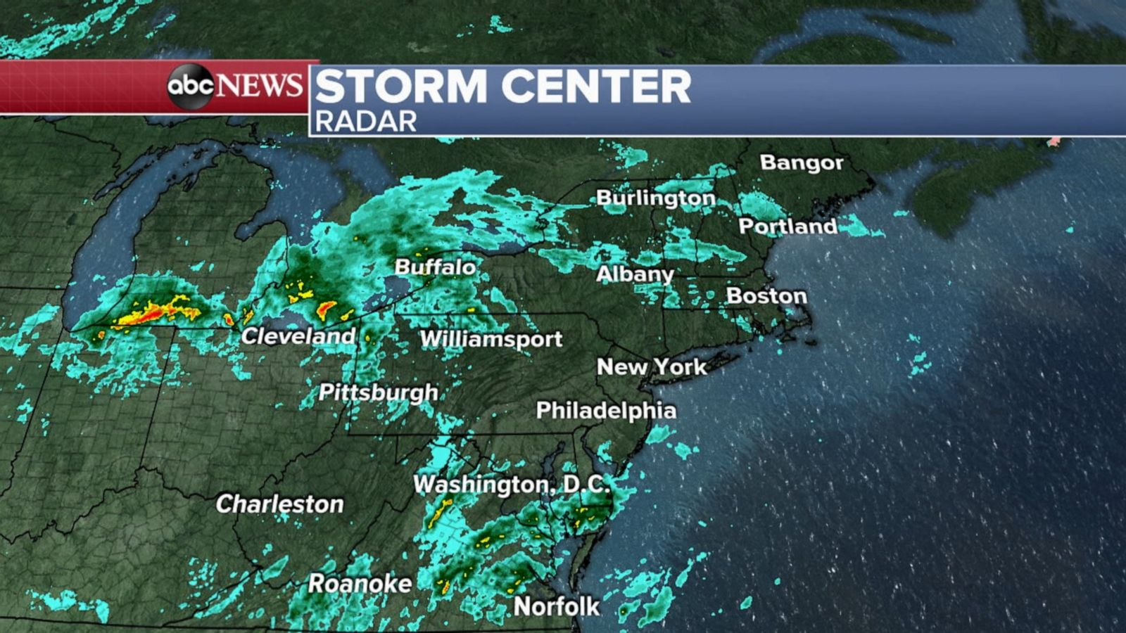Nor'easter to bring chilly rain, snow to parts of New