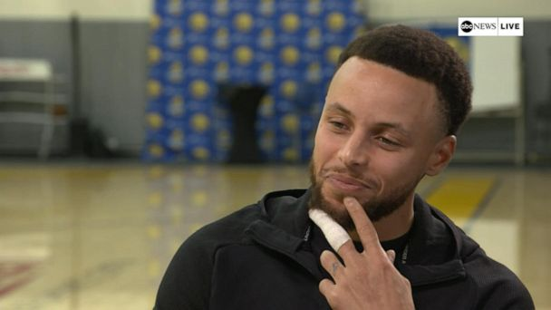 Steph Curry talks NBA Western Conference Finals