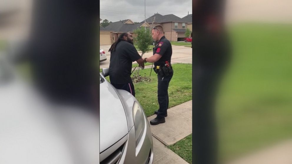 Viral video shows white Texas deputy mistakenly trying to