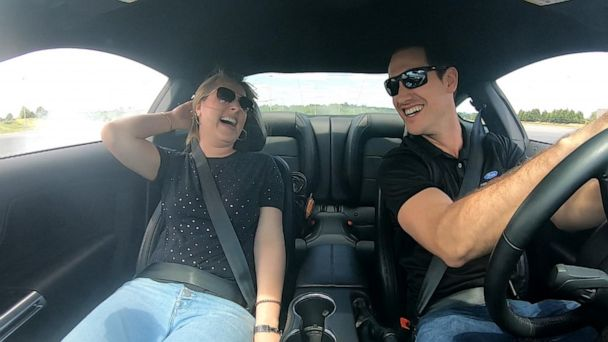 Learning how to drive stick with NASCAR champion Joey Logano