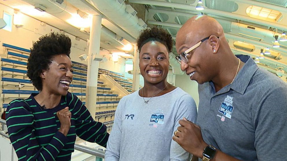 """U.S. Olympic swimmers spearhead """"Make a Splash"""" national water safety campaign"""