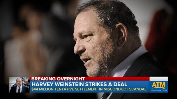 Harvey Weinstein agrees to deal to settle lawsuits