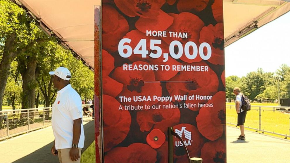 The Poppy Wall Memorial