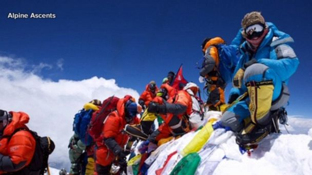 Climber shares first-hand experience scaling Everest this season