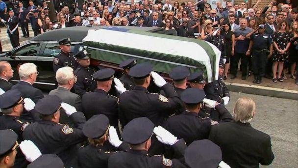 9/11 responder mourned at emotional funeral