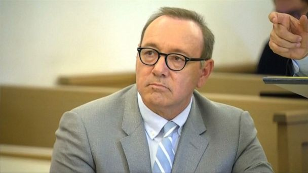 Kevin Spacey returns to court for sex assault case pre-trial hearing