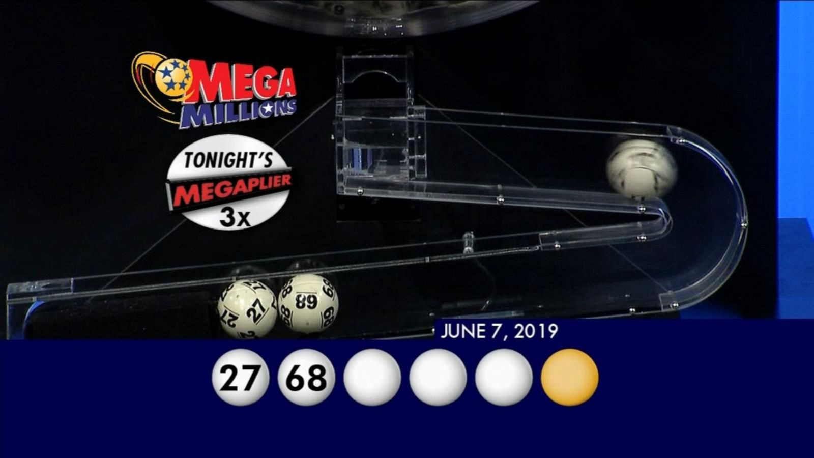 Mega Millions Numbers Drawn For 530 Million Jackpot Abc News