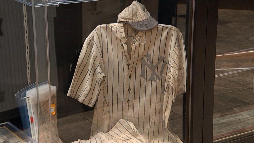 pretty nice 9acd6 46caa Babe Ruth jersey could break memorabilia record