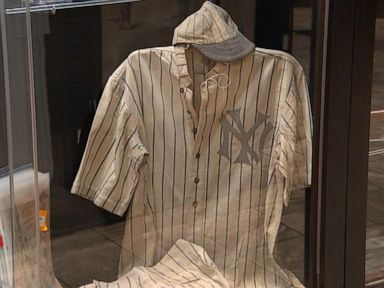 59711a6e318 Babe Ruth jersey could break memorabilia record Video - ABC News