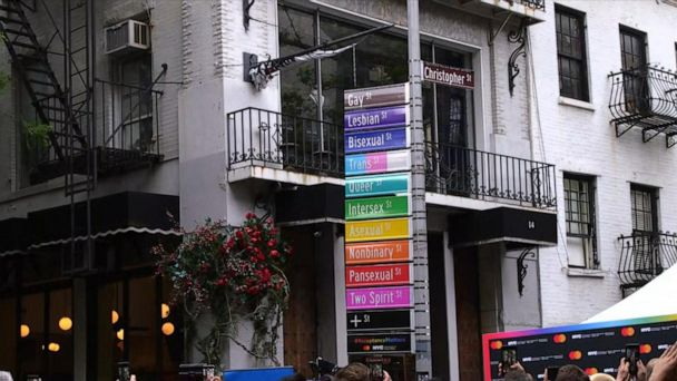 'Acceptance Street' unveiled in NYC in honor of Pride