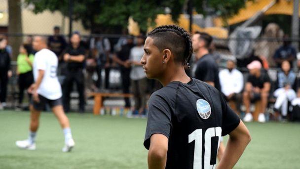 Parkland shooting survivor's soccer dreams come true