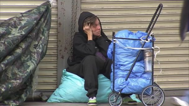 LA mayor announces new strategy to fight homelessness