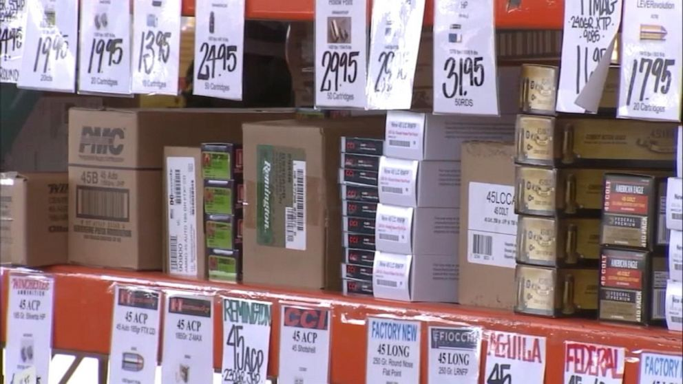 Ammunition sales surge before background checks enforced in California