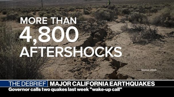 Back to back earthquakes in California hit as the state prepare for the 'big one'